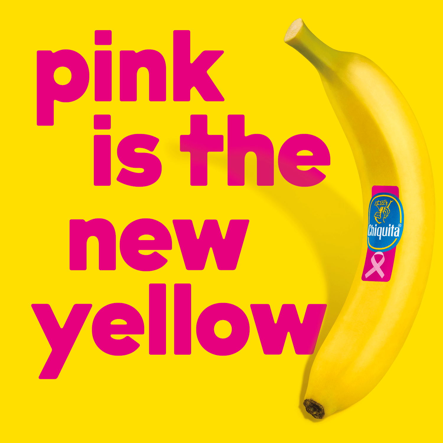 Pink is the new yellow
