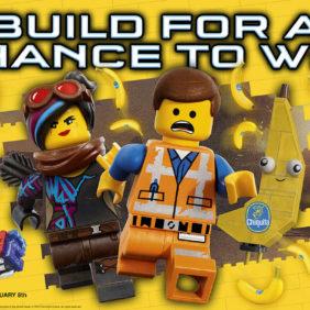 Chiquita werkt samen met het nieuwe filmvervolg THE LEGO® MOVIE 2: HET TWEEDE DEEL