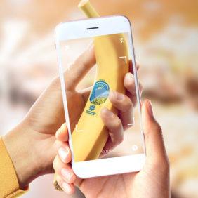 Chiquita slaat de handen ineen met Shazam en Dffrnt Media om het gangpad met versproducten via een meeslepende beleving te transformeren