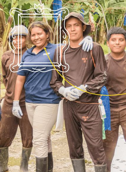 Chiquita gaat de uitdaging aan om vrouwen te emanciperen - 6