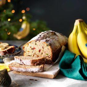 Chiquita-bananenbrood in kerstsfeer