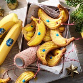Kerstkoekjes met Chiquita-bananen