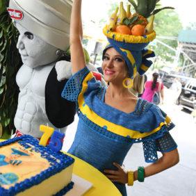 Gefeliciteerd, Miss Chiquita!