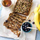 Energierepen van gepofte quinoa met Chiquita-banaan en pompoenzaden.