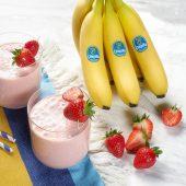 Snelle smoothie met aardbei en Chiquita-banaan