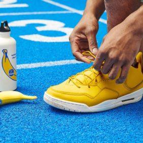 Wat heb je nodig om iedereen eruit te lopen deze lente? Chiquita-bananen!