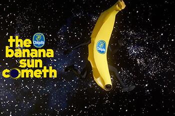 The Chiquita Banana Sun Cometh has received Gold! - 2