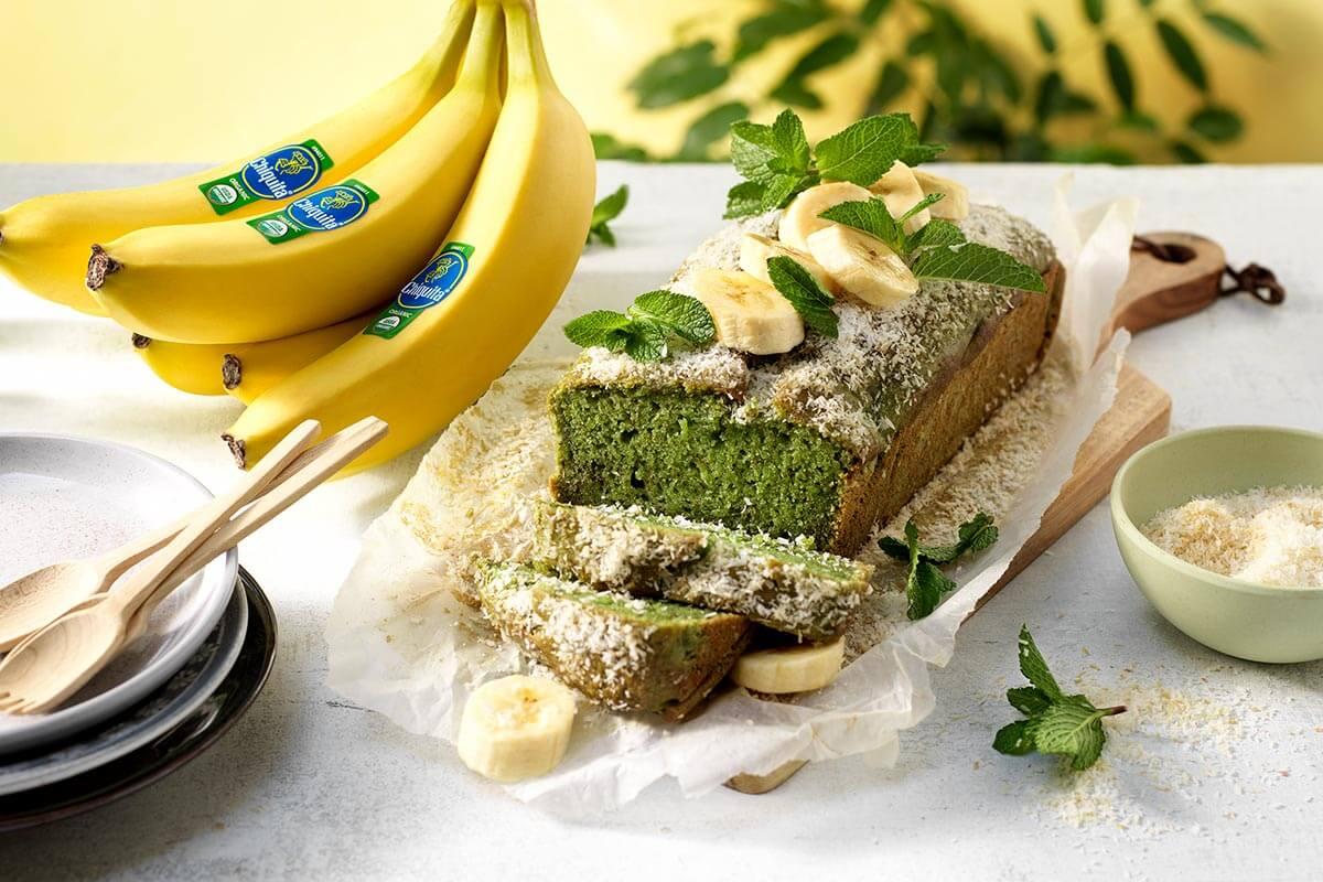 Veganistisch pandanbrood met Chiquita-bananen