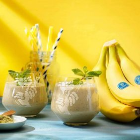 Chiquita-bananensmoothie met groene thee