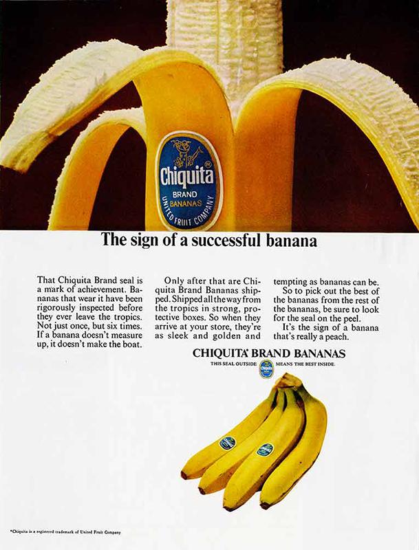Chiquita advertising campaigns