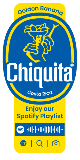 Spotify_Golden_Banana_Chiquita_Sticker