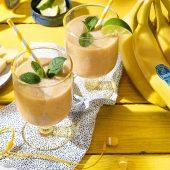 Tropische Chiquita-bananensmoothie met yoghurt