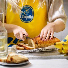 Bananenbrood met 3 ingrediënten van Chiquita