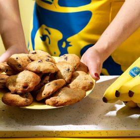 Makkelijke Chiquita bananen chocoladekoekjes