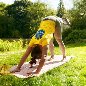 Yoga- en stretchoefeningen