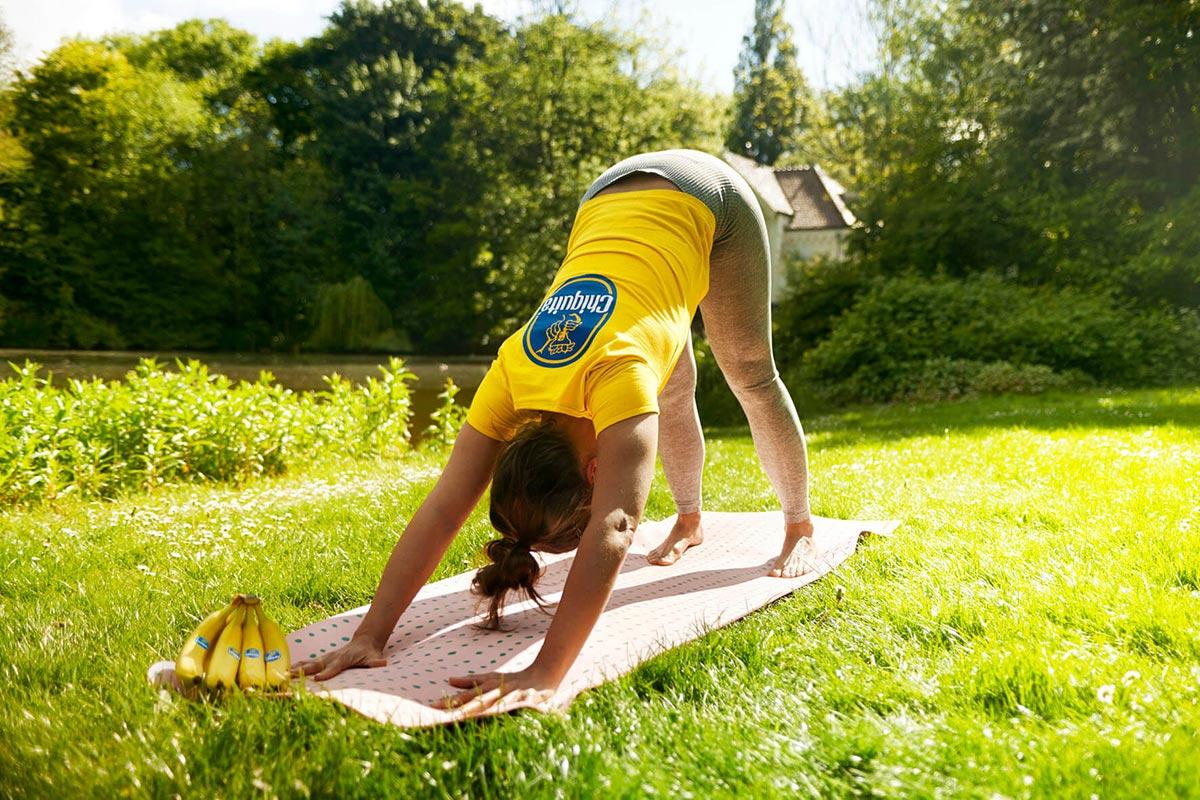 Yoga, bananen & gezond blijven