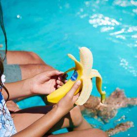 Chiquita-bananen zijn de perfecte snack voor tijdens de zomervakantie