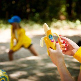 Chiquita: gaan met die banaan, voor hardlopers en fietsers