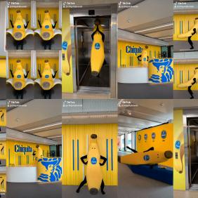 Doe mee met de #ChiquitaChallenge met de geweldige Bananenman