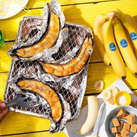 Vier nieuwe zomerse recepten voor op de barbecue: Chiquita gaat met die banaan!
