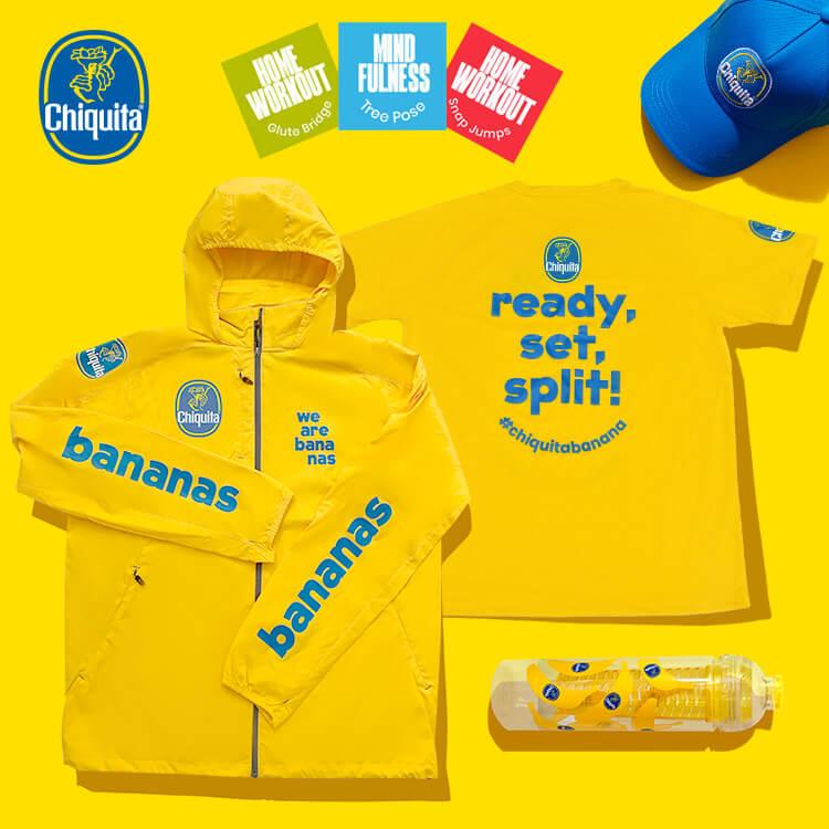 Maak kans op sportmerchandise van Chiquita!