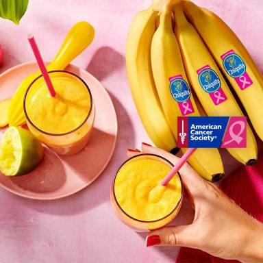 Chiquita banaan-peer smoothie met kurkuma