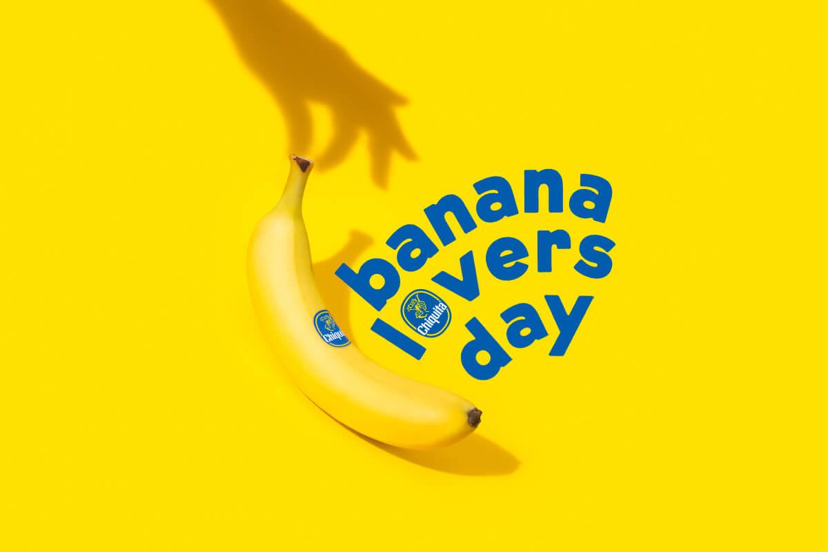 Chiquita viert de Dag van de Bananenliefhebbers met geliefde bananenrecepten