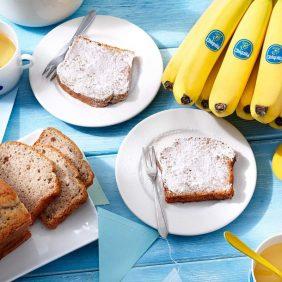 Klassiek theebrood met Chiquita banaan