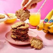 Chiquita banaan-havermoutkoekjes met twee ingrediënten