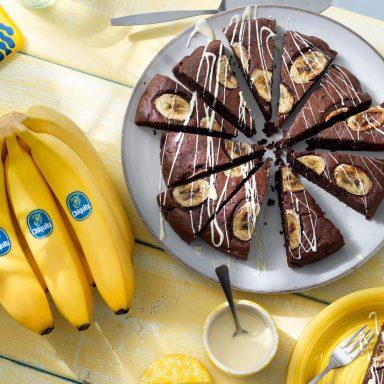 Chocolade- en Chiquita-bananenbrood
