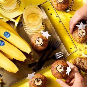 Bananenbroodmuffins van Chiquita