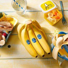 Gezonde tussendoortjes voor kinderen? Je hoeft niet verder te zoeken dan een Chiquita banaan!
