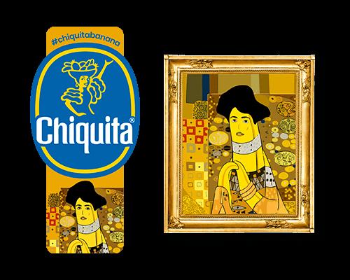 Chiquita-Artist-Sticker_Gustav_Klimt