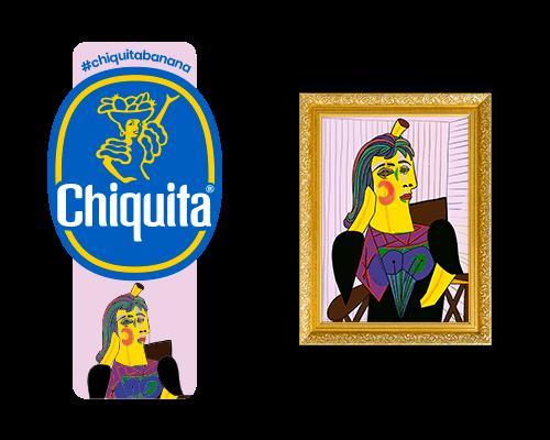 Chiquita-Artist-Sticker_Picasso