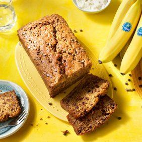 Bananenbrood met stukjes chocolade van Chiquita