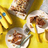 Bananenbrood zonder eieren van Chiquita