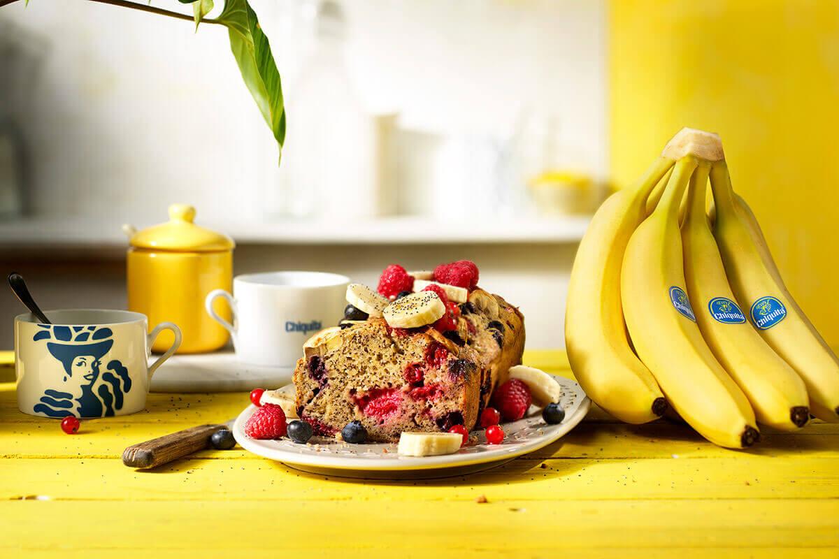Glutenvrij bananenbrood van Chiquita