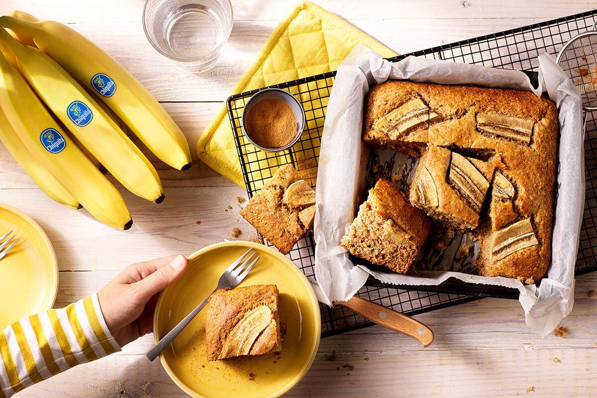 Gezond bananenbrood van Chiquita