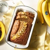 Suikervrij bananenbrood van Chiquita