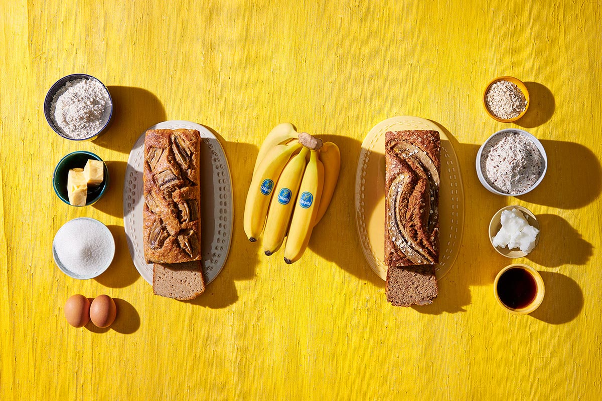 Bananenbroodrecepten met vervangende ingrediënten