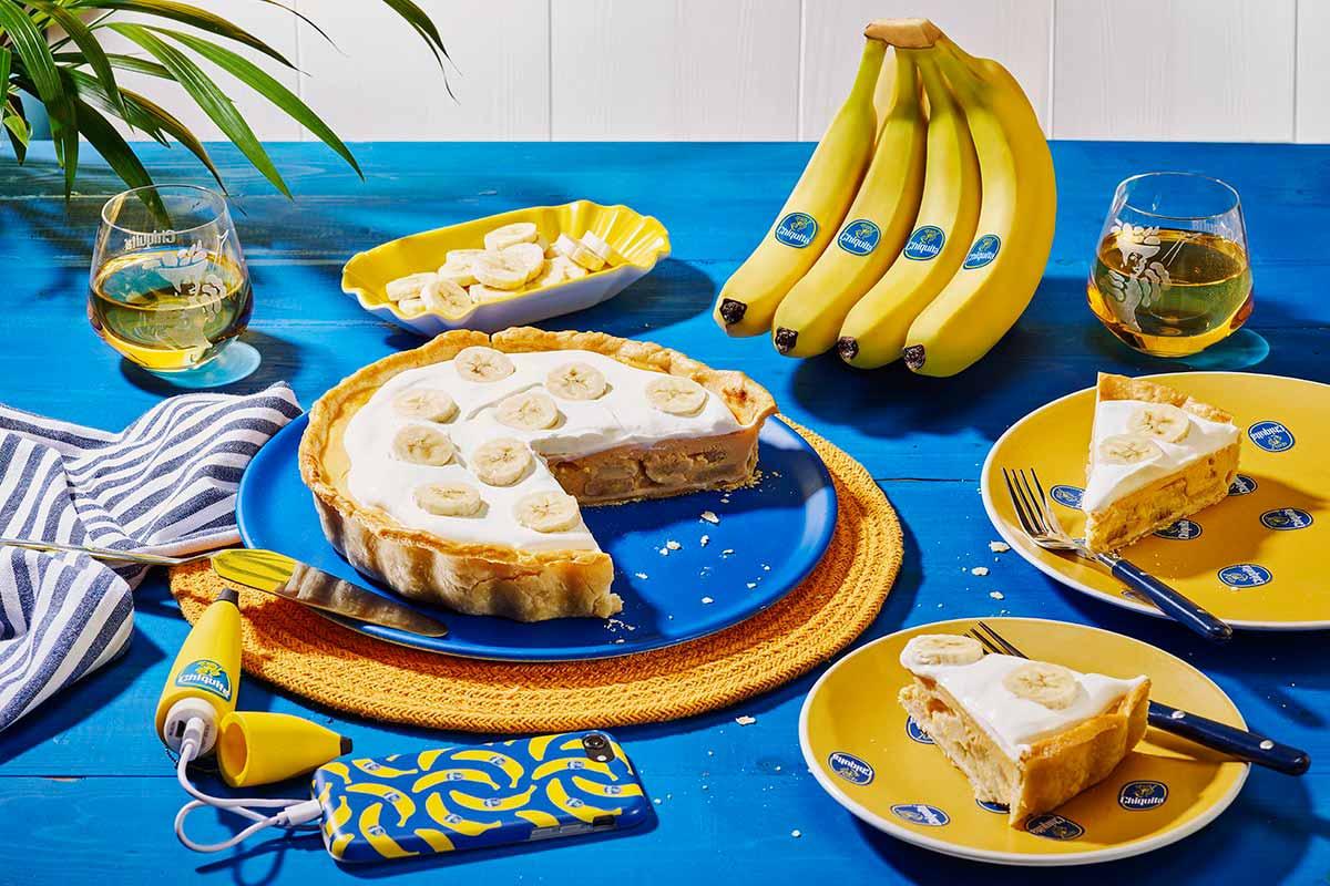 Bananenroomtaart van Chiquita