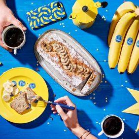 Snel en makkelijk Chiquita bananenbrood