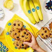 Bananen-ontbijtkoekjes van Chiquita