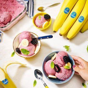 Nicecream van bevroren bananen van Chiquita